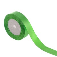 Лента атласная светло-зеленая