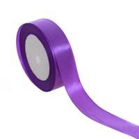 Лента атласная фиолетовая для упаковки