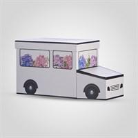 Подарочная Коробка-Машинка Белая