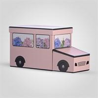 Подарочная Коробка-Машинка Розовая