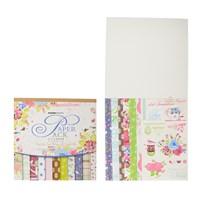 Тетрадь для кардмейкинга (открытки своими руками) Цветочный сад