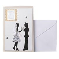 Открытка ручной работы С Днем Свадьбы! (от 5ти штук)