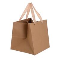 Пакет подарочный крафтовый (30х30х30) от 12 шт.