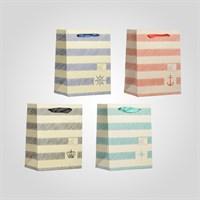Пакеты Подарочные в Морском Стиле S Микс (от 12 штук)