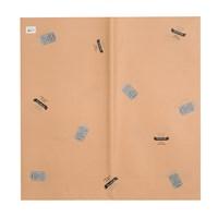 Бумага двухсторонняя оформительская Brawn ( упаковка -  20 шт.)