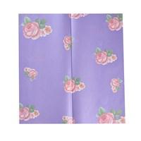Бумага упаковочная для цветов  сиреневая (упаковка -  20 шт.)