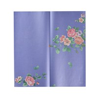 Бумага упаковочная для цветов фиолетовая ( упаковка -  20 шт.)