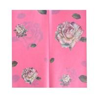 Бумага упаковочная для цветов Розовый пион (упаковка -  20 шт.)