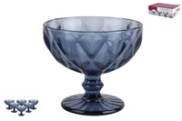 Набор креманок 1/6 300мл Голубой Тебриз 4691