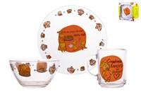 Набор посуды 1/3 п/уп 18с2048 Оранжевая Корова