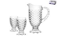 Набор д/питья 1/7 стакан  230 мл кувшин  1260мл DSZB023-1+DSY023-3/L